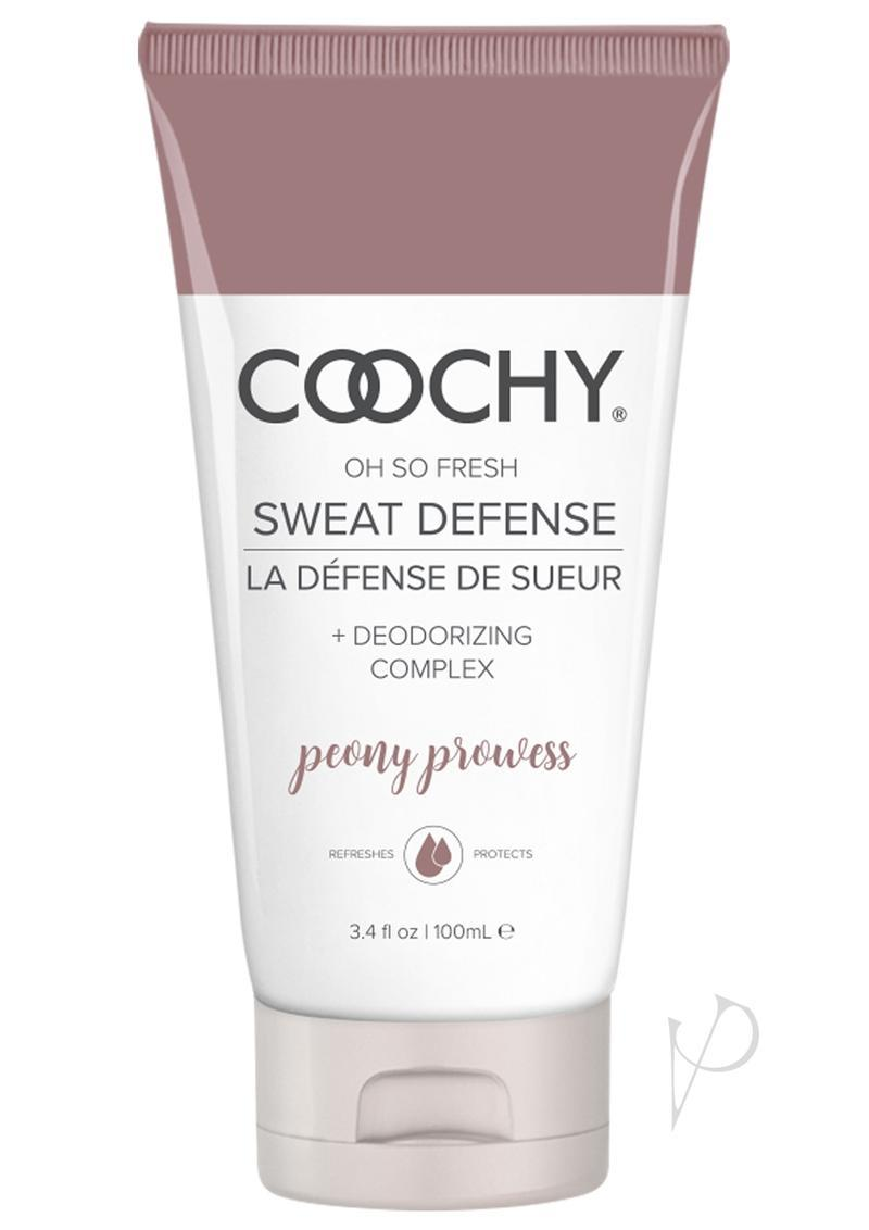 Coochy Sweat Defense Lotion Peony Prowess 3.4oz